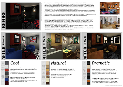 Presentation Board: Redecorating a Sitting Room