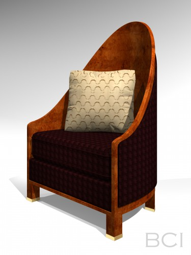 3D Model of Armchair.