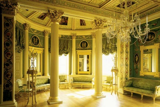 European Inspiration: The Spencer House in London. Photograph by Mark Fiennes. From www.spencerhouse.co.uk.