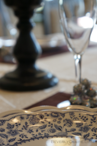 Table setting at a house museum in Yokohama