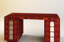 An Art Deco-style Desk