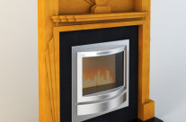 An Art Deco Fireplace