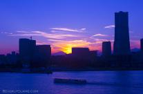 A Blue Yokohama Sunset