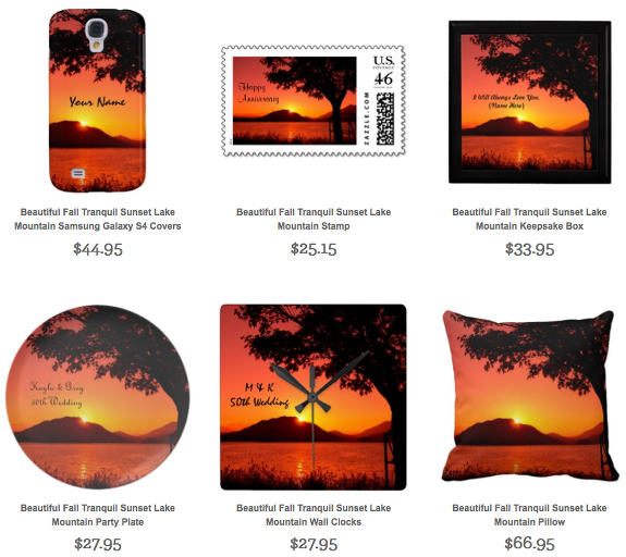 Sunset Gifts by Beverly Claire Kaiya