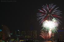 Yokohama Port Anniversary Fireworks 7
