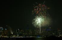 Yokohama Port Anniversary Fireworks 10