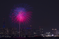 Yokohama Port Anniversary Fireworks 6