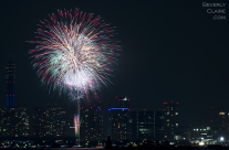 Yokohama Port Anniversary Fireworks 1