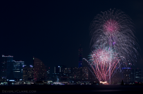 Yokohama Port Anniversary Fireworks 3