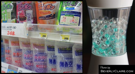 Beads-type air fresheners are becoming popular in Japan