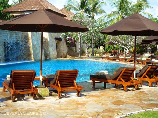 Lower level pool at Ayana Resort