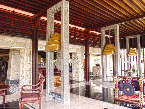 View of the lobby at Ayana