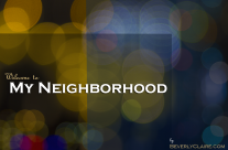 My Neighborhood in Bokeh