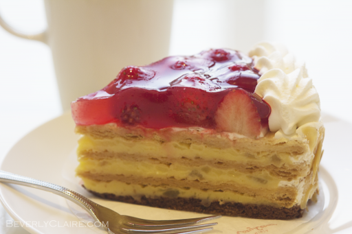 Cake at Ginza Cozy Corner