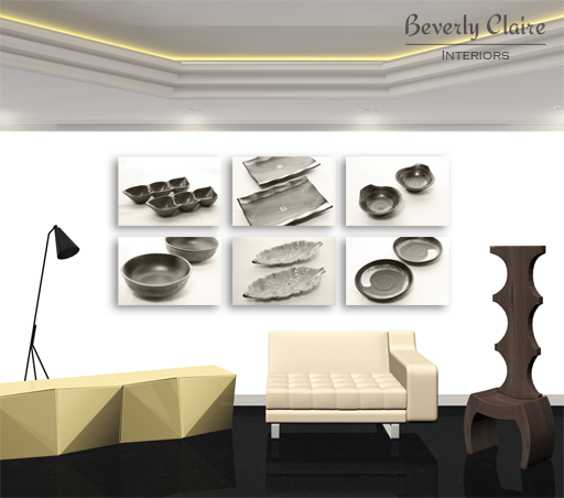 Contemporary product gallery room render by Beverly Claire Kaiya
