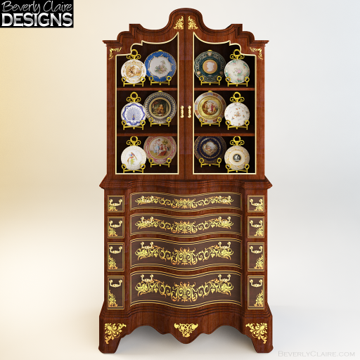 A classic display cabinet
