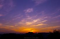 Sunset at Gumyo-ji Park