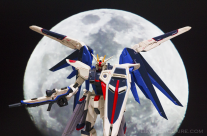 Gundam and the Moon
