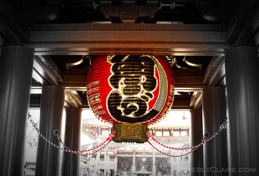 Lantern to greet you
