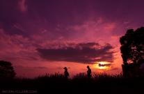 Sunset at Kuki in Saitama