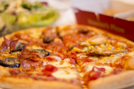 Domino Pizza's for lunch