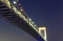 Tokyo Rainbow Bridge Underside