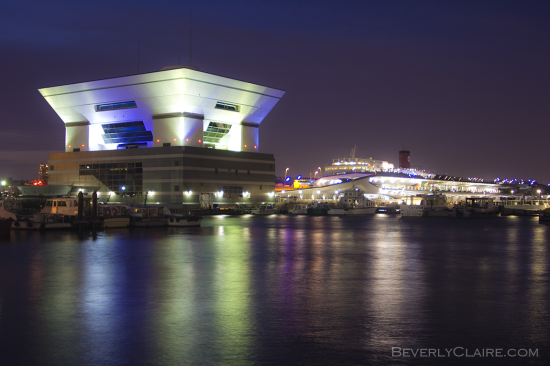 Yokohama International Passenger Terminal for ships