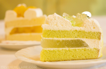 Melon and Mango Cake