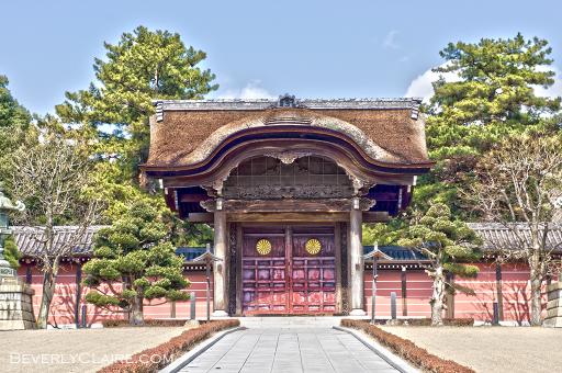 A gate at Soujiji.