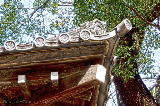 Detail of a roof.